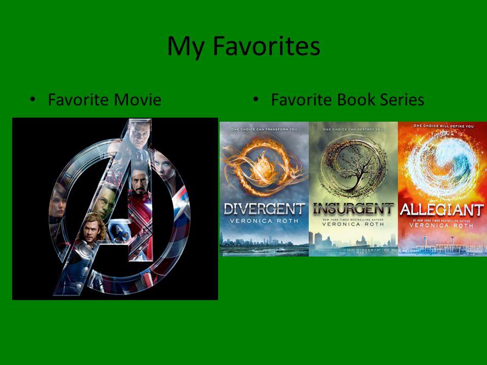 My Favorites Favorite Movie Favorite Book Series