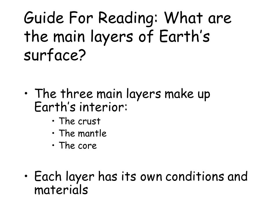 Figure 4: Comparing & Contrasting – How is the water in the swimming pool similar to Earth's interior? How is it different? The deeper the water in th