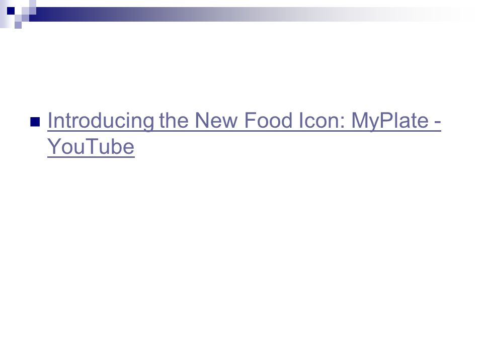 Introducing the New Food Icon: MyPlate - YouTube Introducing the New Food Icon: MyPlate - YouTube