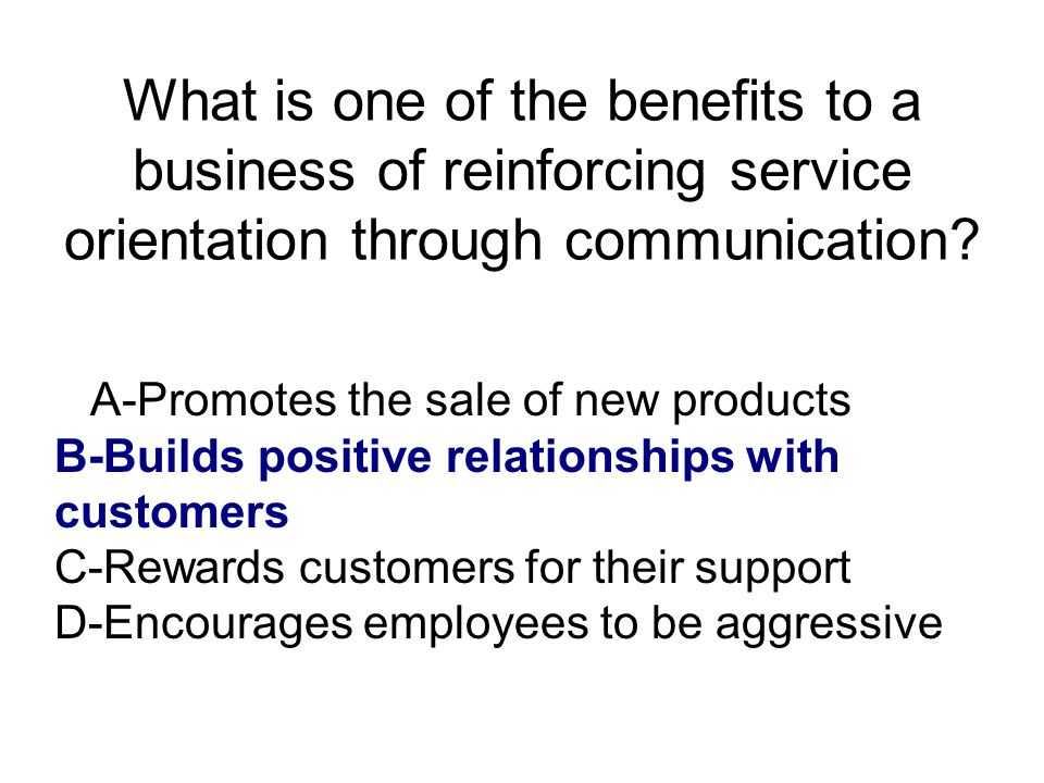 What is a guideline for employees to follow in handling customer inquiries.