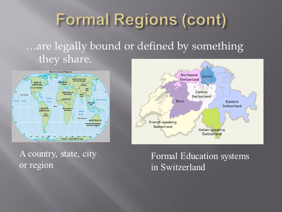 …are legally bound or defined by something they share.