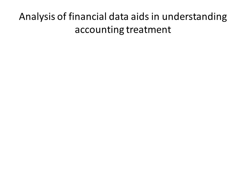 How analysis of financial data aids in verifying information