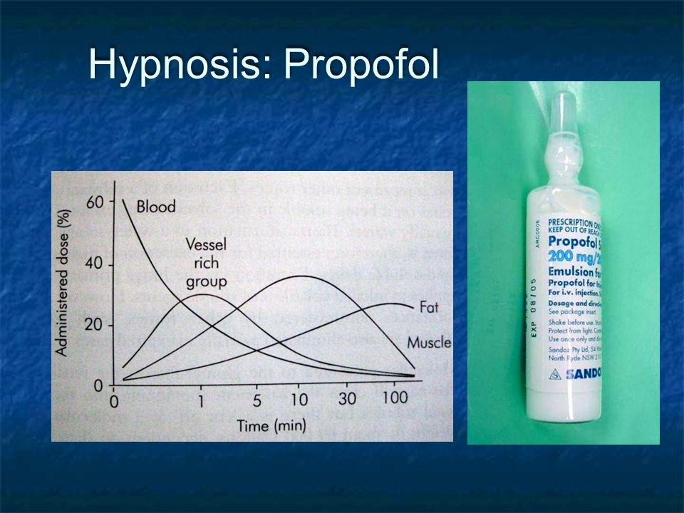 Hypnosis: Propofol