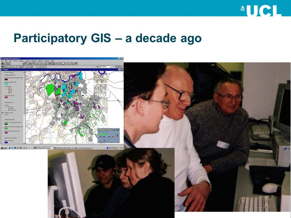 Participatory GIS – a decade ago