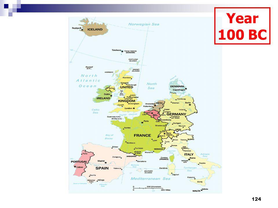 124 Year 100 BC