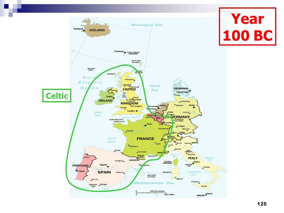 125 Celtic Year 100 BC