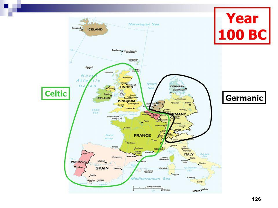 126 Celtic Germanic Year 100 BC