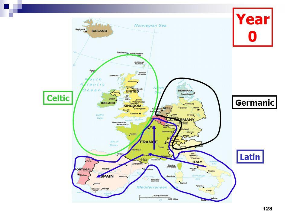 128 Celtic Germanic Latin Year 0