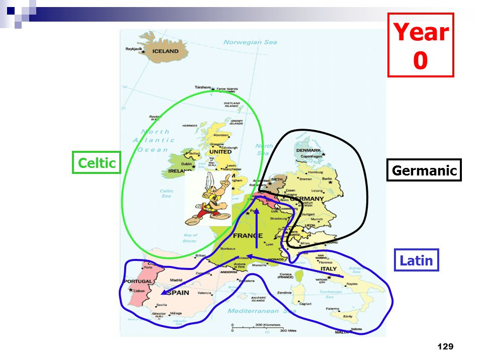 129 Celtic Germanic Latin Year 0
