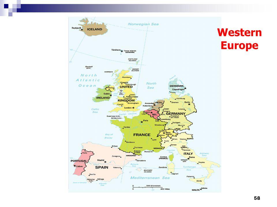 58 Western Europe