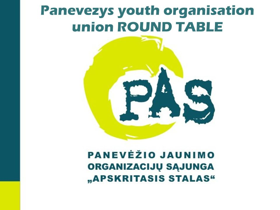 Panevezys youth organisation union ROUND TABLE