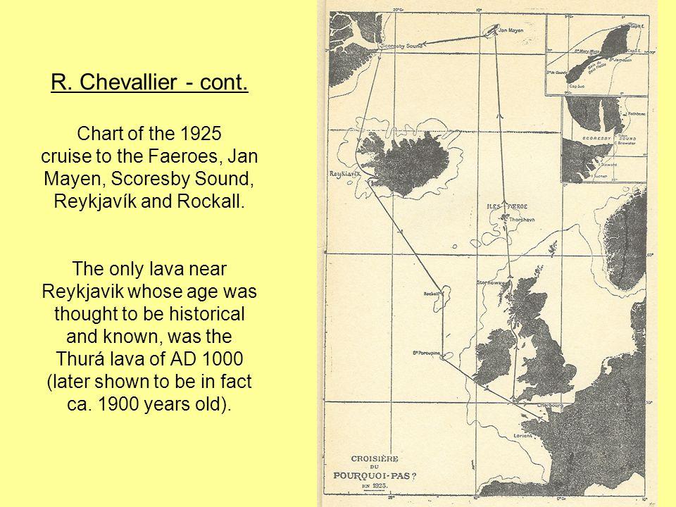 R. Chevallier - cont.