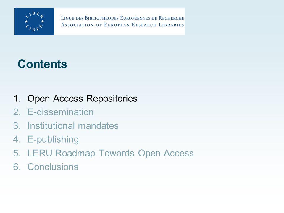 Open Access Repositories http://www.opendoar.org/