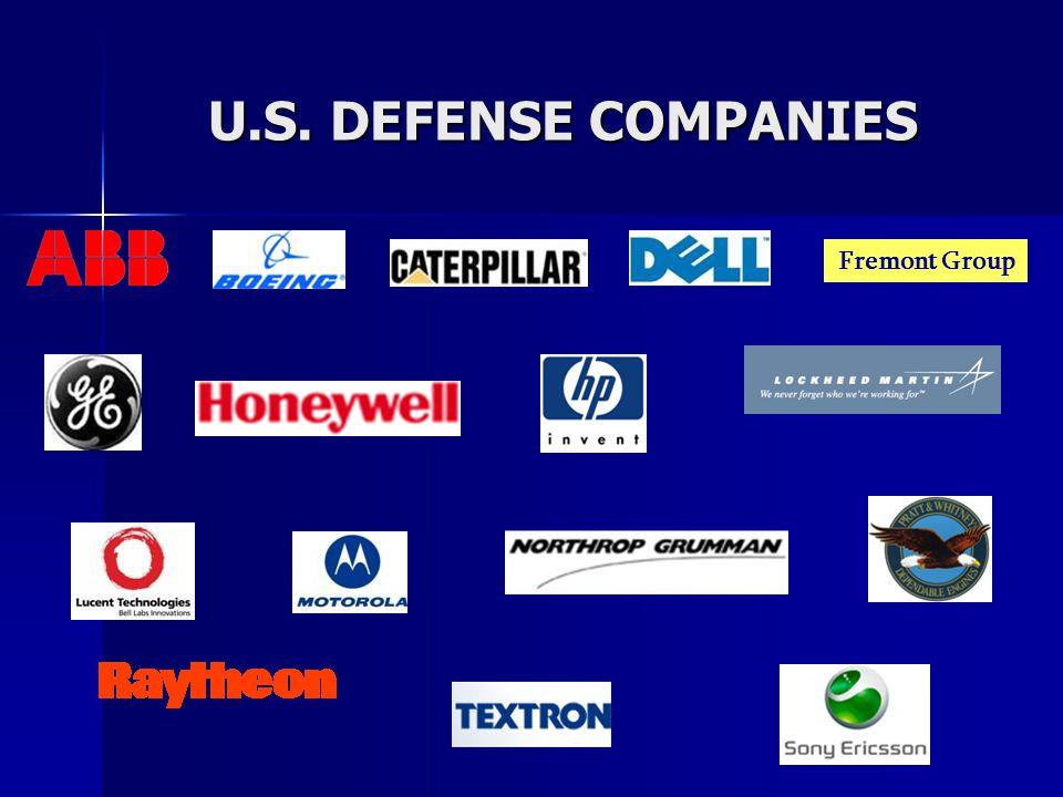 U.S. DEFENSE COMPANIES Fremont Group