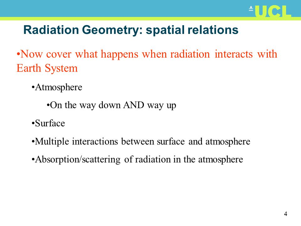 24 Atmospheric scattering 1: Rayleigh Particle size << of radiation e.g.