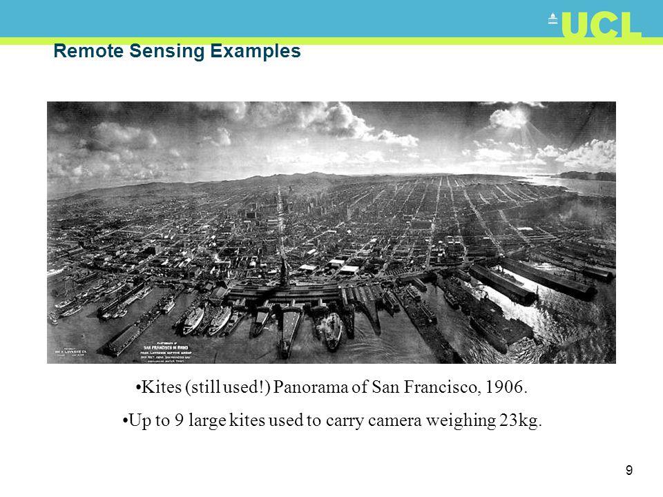 10 Remote Sensing Examples
