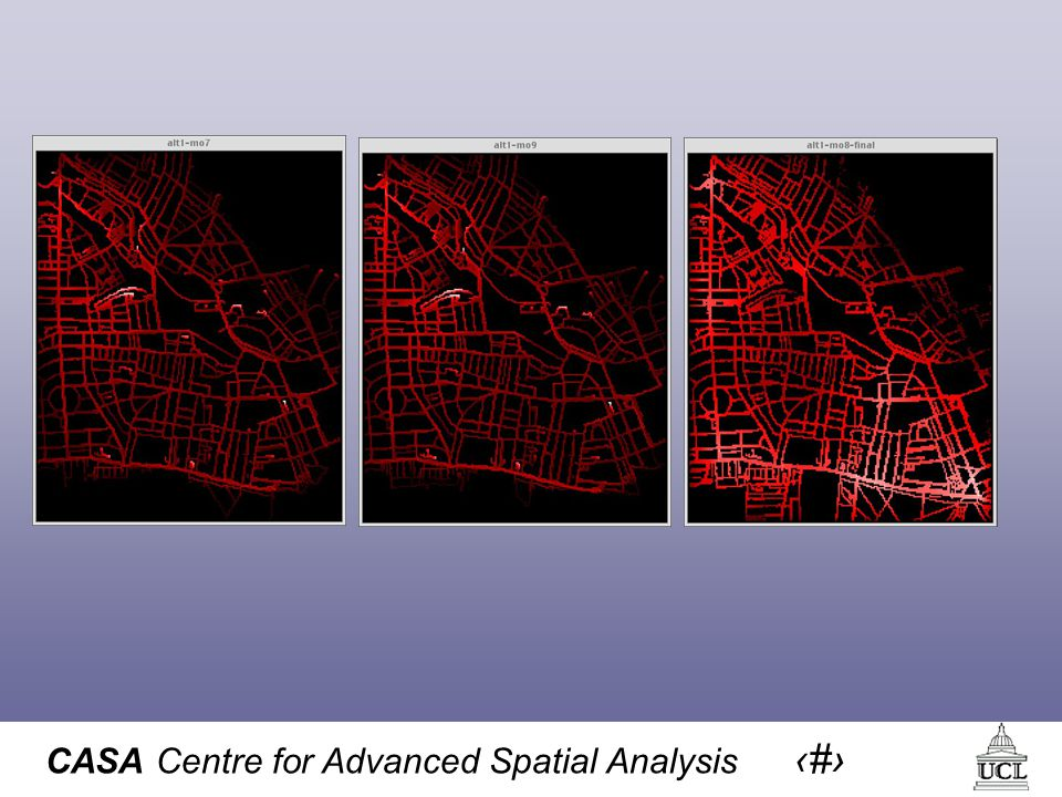 CASA Centre for Advanced Spatial Analysis 58