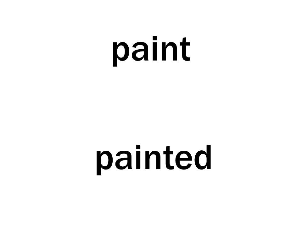 paint painted