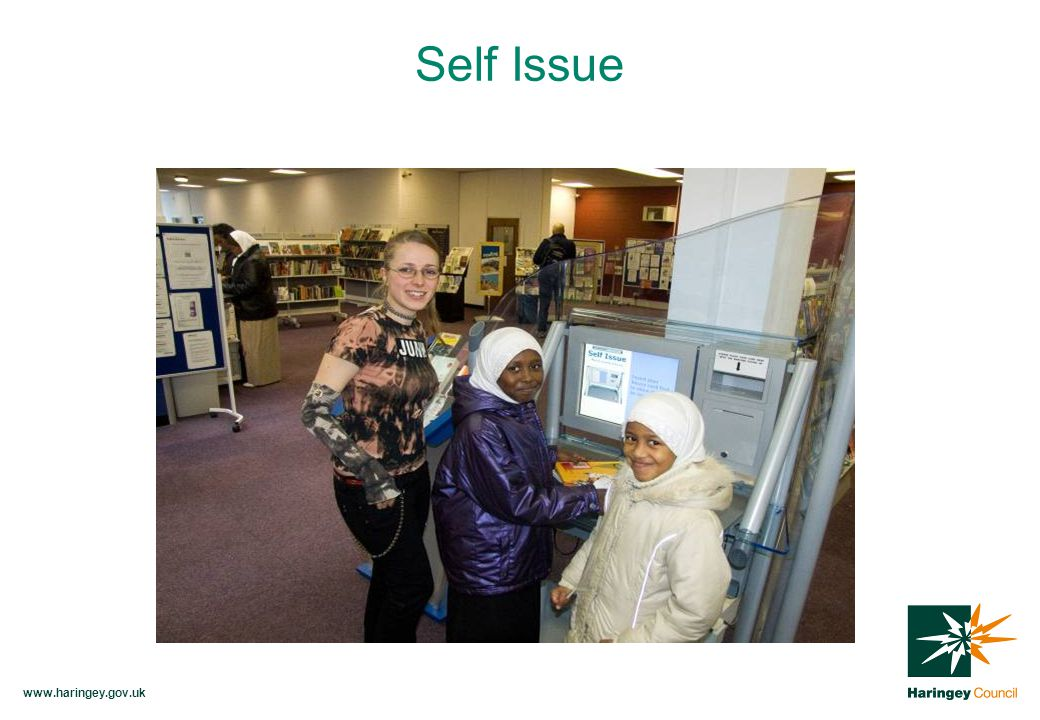 www.haringey.gov.uk Self Issue