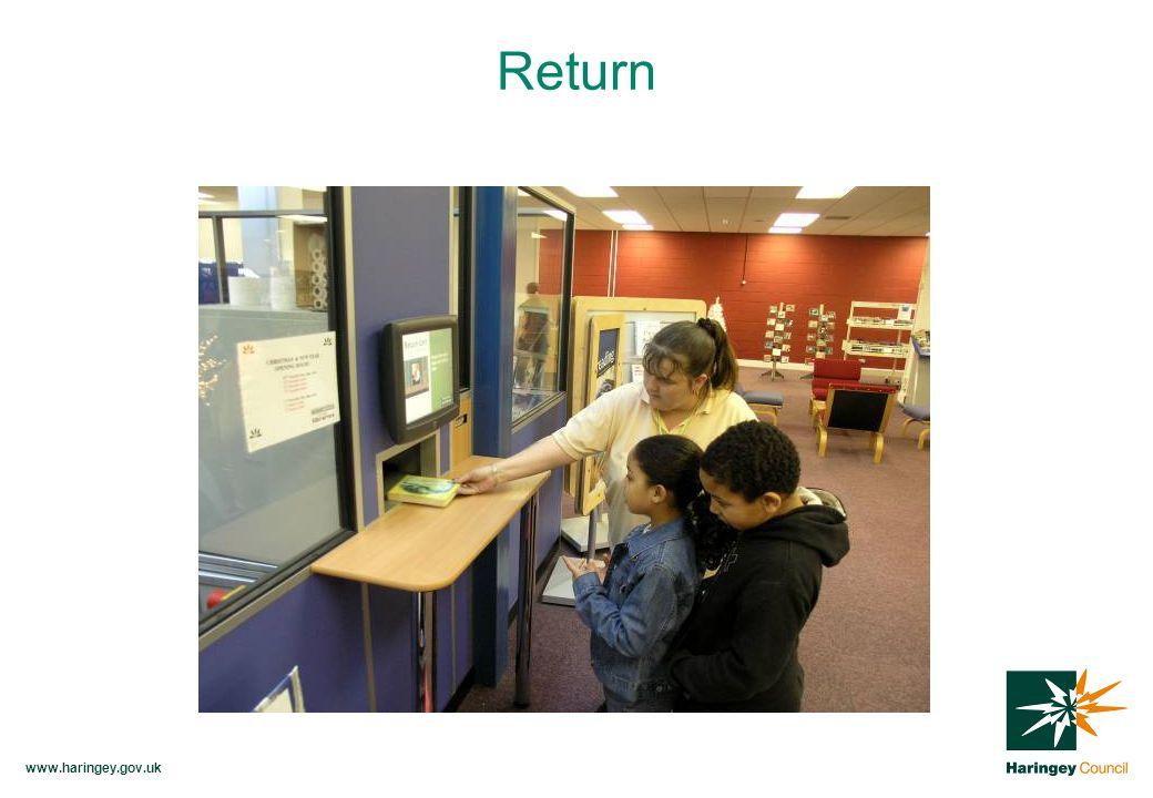 www.haringey.gov.uk Return