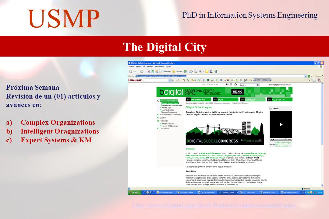 22 USMP PhD in Information Systems Engineering KM Projects   management/ Acknowledgements to our Jury Dr.