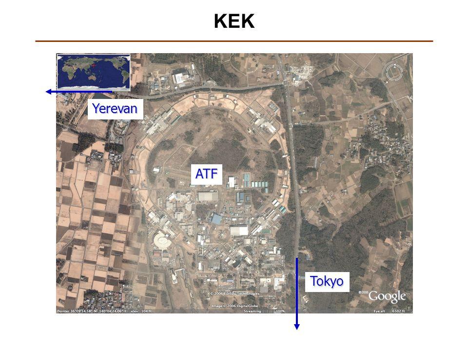 KEKATF Tokyo Yerevan