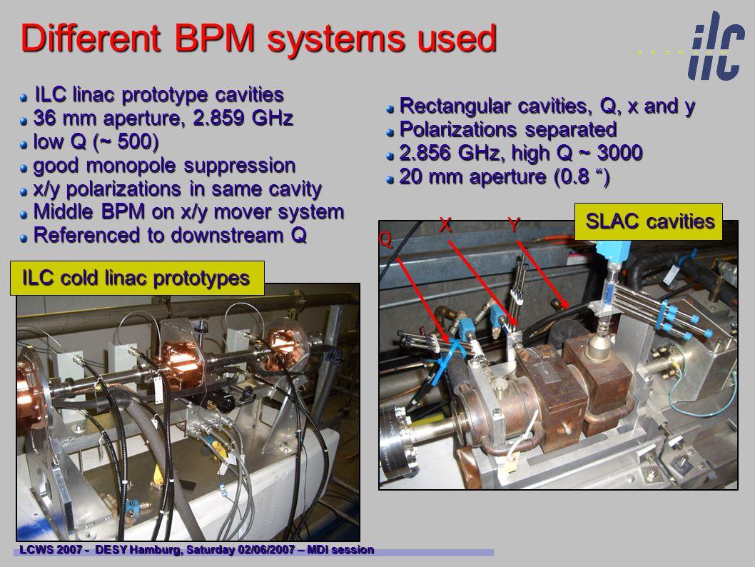 New spectrometer BPM prototype LCWS 2007 - DESY Hamburg, Saturday 02/06/2007 – MDI session Optimized design : A.
