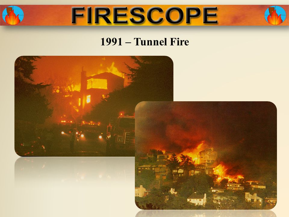 1991 – Tunnel Fire