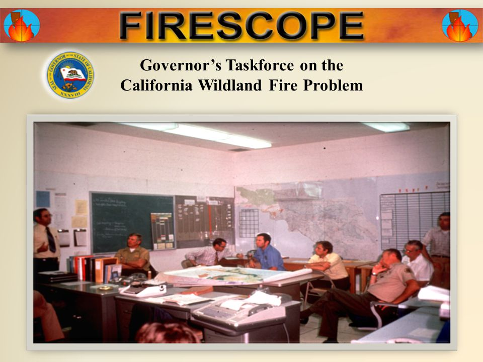 Governor's Taskforce on the California Wildland Fire Problem