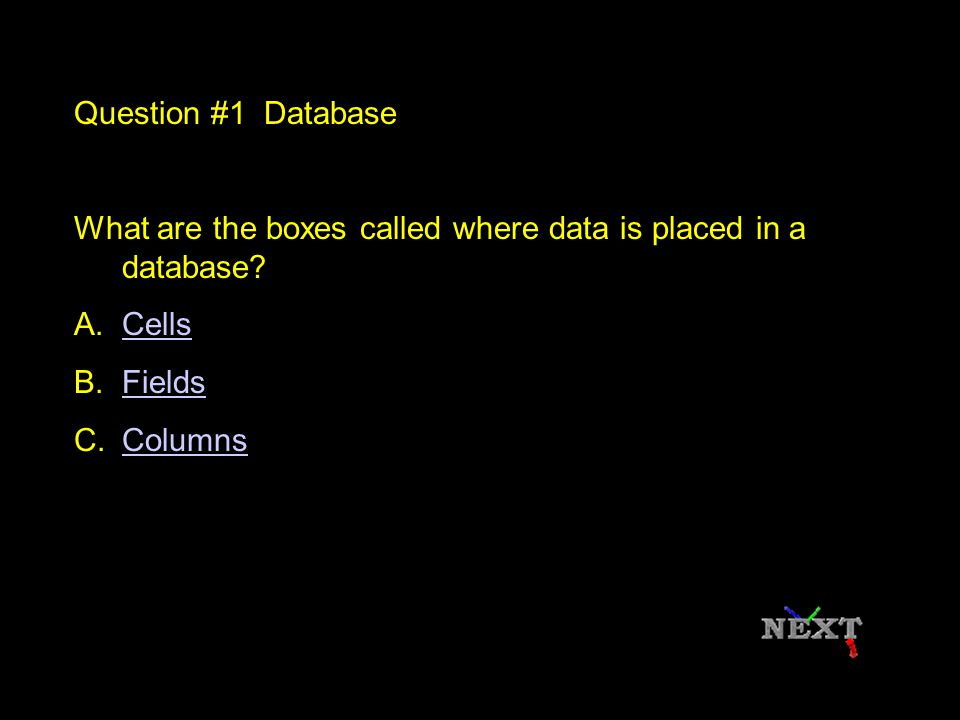 Can you think of any other programs that are databases.