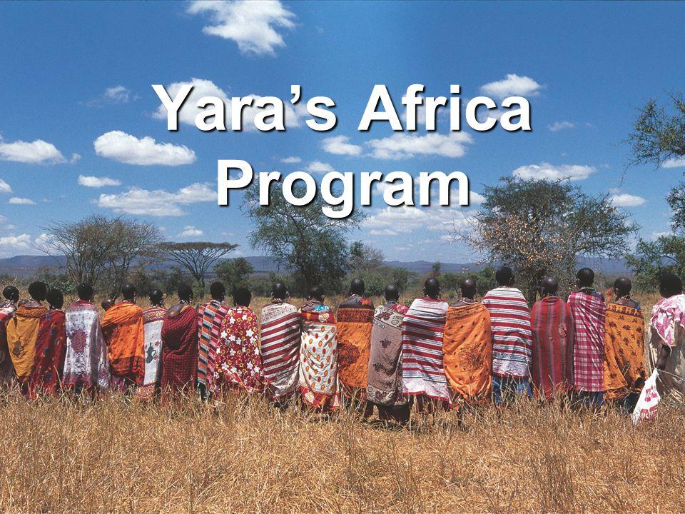 Yara's Africa Program