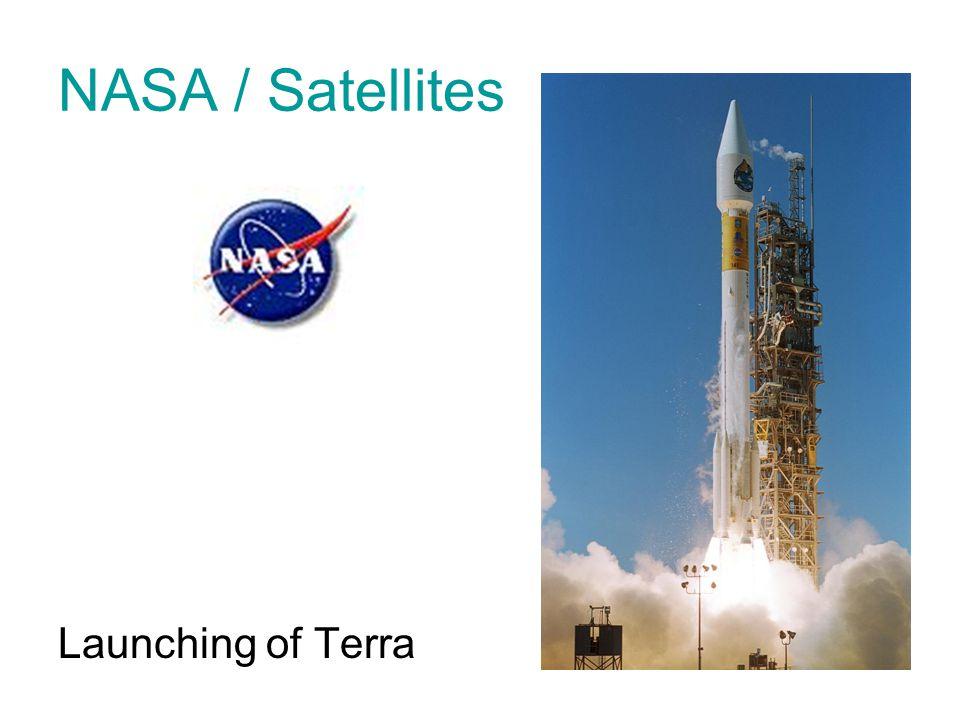 NASA / Satellites Launching of Terra