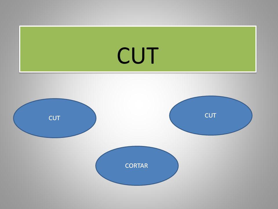 CUT CORTAR