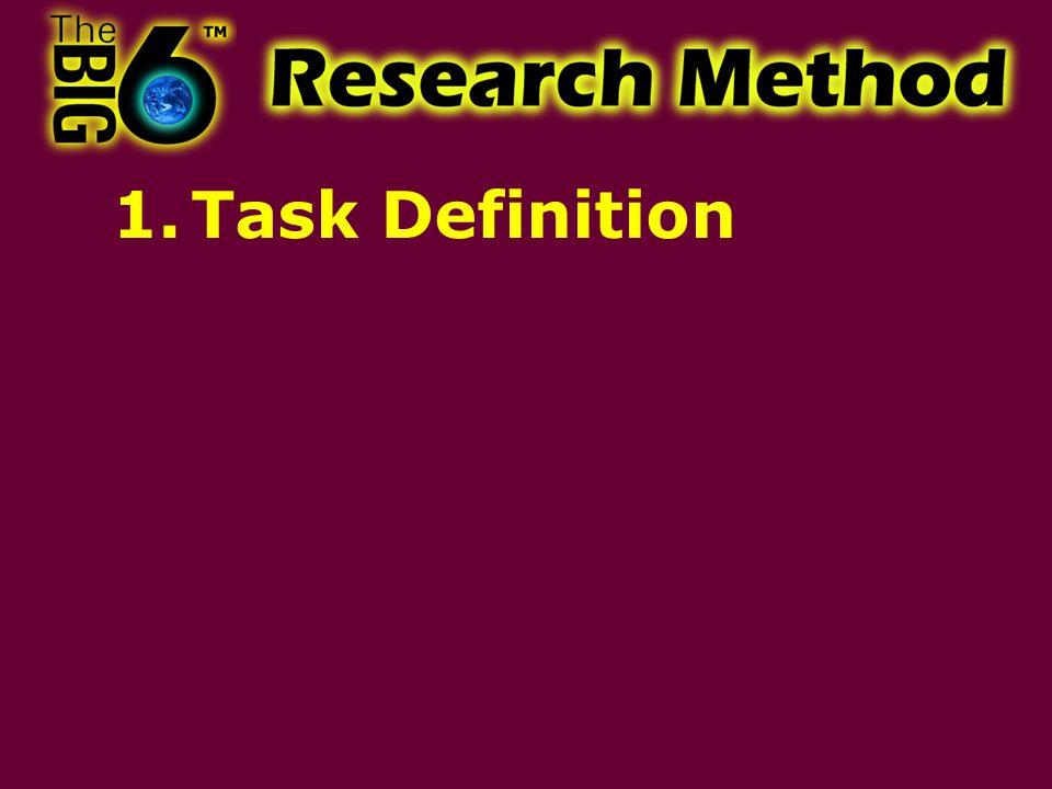1.Task Definition
