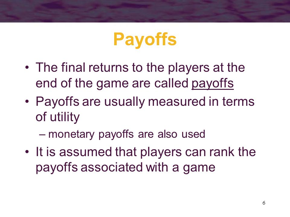 57 Pricing in Static Games A two-stage game where firms choose capacity first (and then price) is formally identical to the Cournot analysis –the quantities chosen in the Cournot equilibrium represent a Nash equilibrium each firm correctly perceives what the other's output will be –once the capacity decisions are made, the only price that can prevail is that for which quantity demanded is equal to total capacity