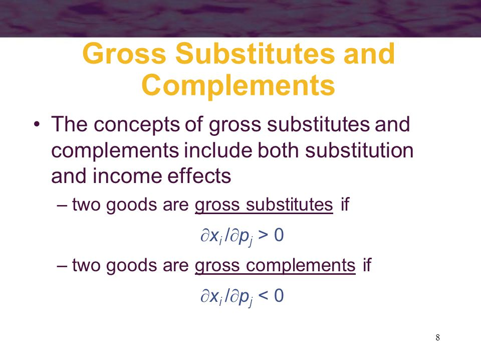 39 The Linear Attributes Model a1a1 a2a2 0 x y z x* is the combination of a 1 and a 2 that would be obtained if all income was spent on x x* y* y* is the combination of a 1 and a 2 that would be obtained if all income was spent on y Z* z* is the combination of a 1 and a 2 that would be obtained if all income was spent on z