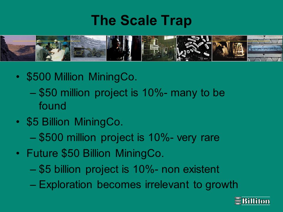 The Scale Trap $500 Million MiningCo.