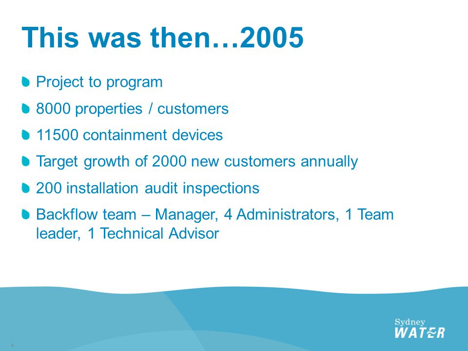 Issues  Unsupported standalone database  No integration into SWC source systems  Large amounts of manual administration  Process bottlenecks  Growing backlog of work –new customers, inspections and annual test follow up  Could not meet our growth targets  Document storage and retrieval problems  High exception rate with test reports  Reporting and staff engagement