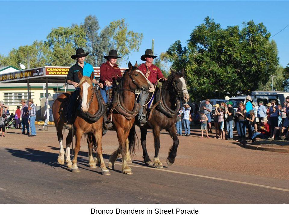 Bronco Branders in Street Parade