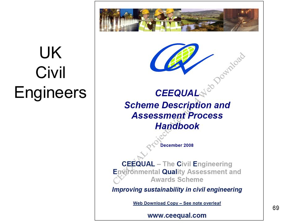 69 UK Civil Engineers
