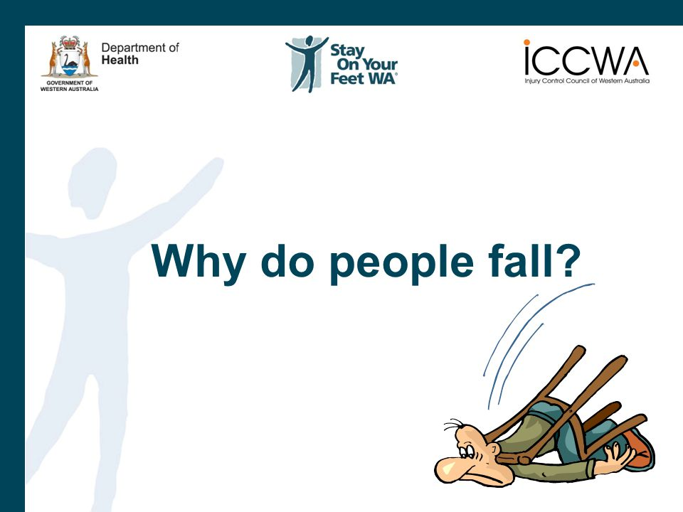 Why do people fall