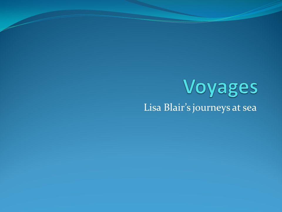 Lisa Blair's journeys at sea