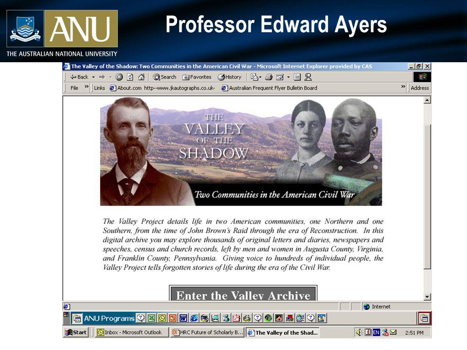 Professor Edward Ayers