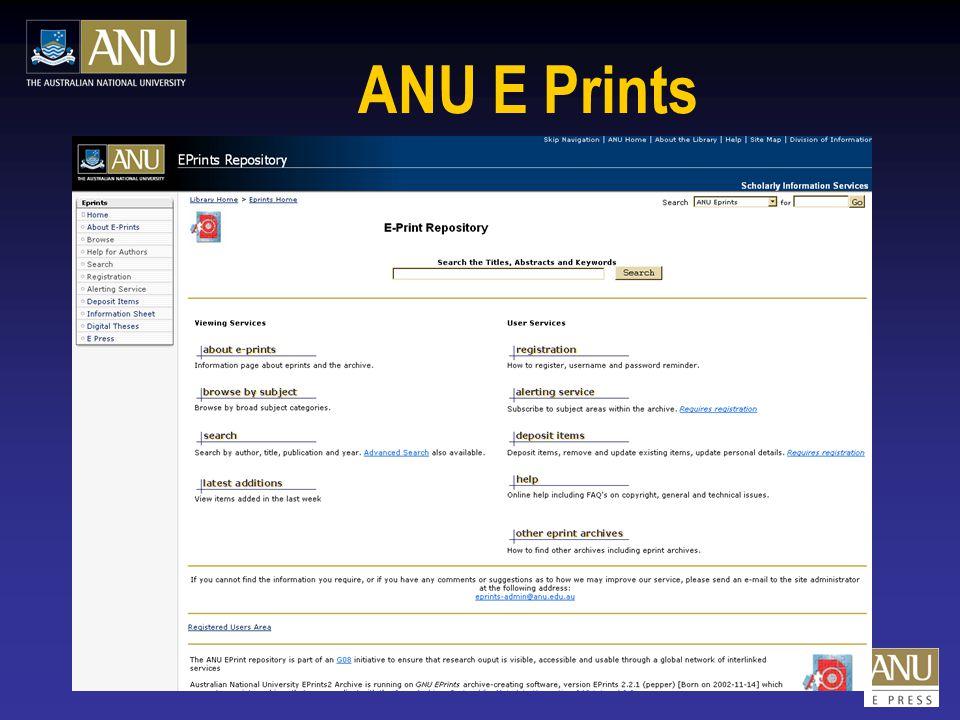 ANU E Prints