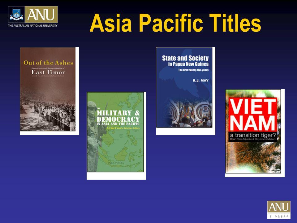 Humanities Titles