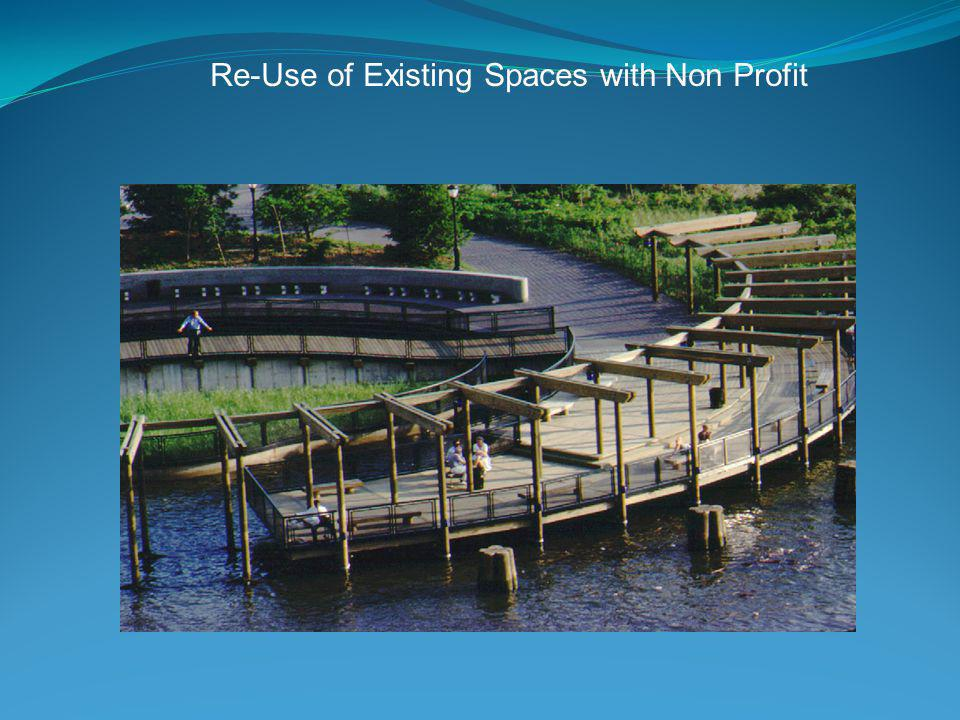 Re-Use of Existing Spaces with Non Profit