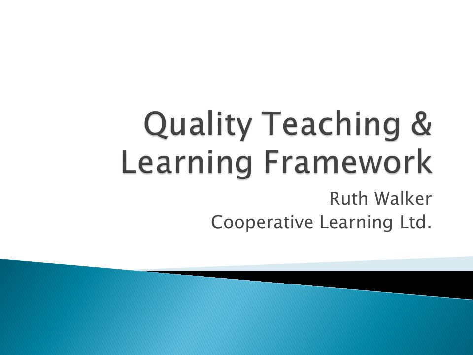 Ruth Walker Cooperative Learning Ltd.