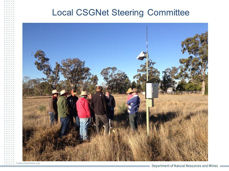 Local CSGNet Steering Committee