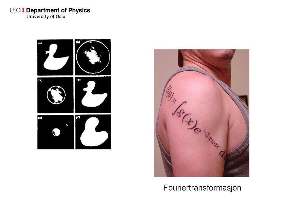 Fouriertransformasjon