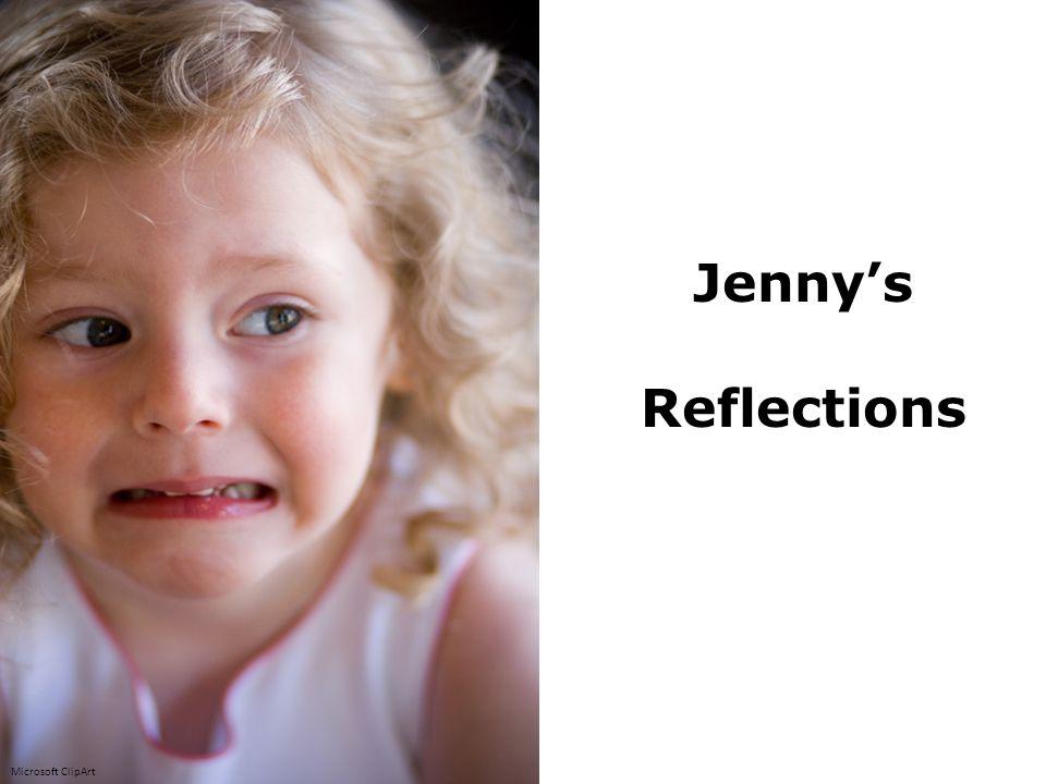 Jenny's Reflections Microsoft ClipArt